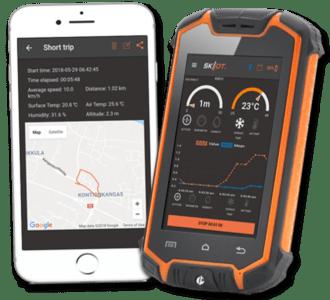 Skiiot app